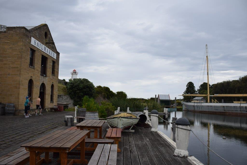 Dockside at the Flagstaff Hill Maritime Village