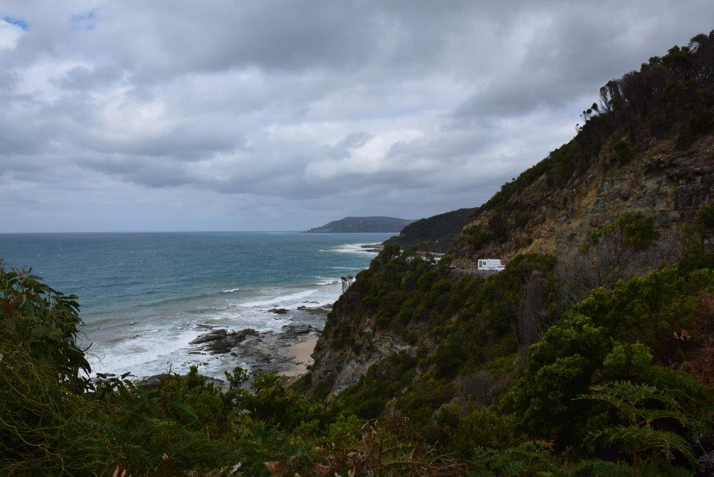 The view from Big Hill, Great Ocean Road, Victoria