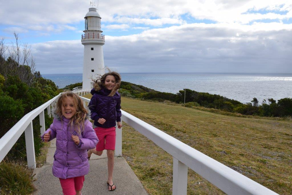 Straight out of an adventure story - staying at Cape Otway Lightstation