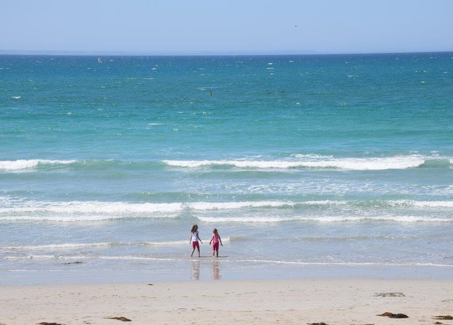 Port Fairy Beach - great for kids