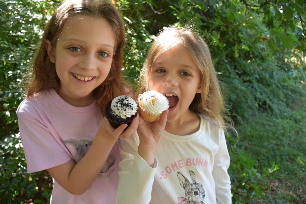 Brooke and Samantha give Cupcakes Delivered cupcakes the taste test - loved them!