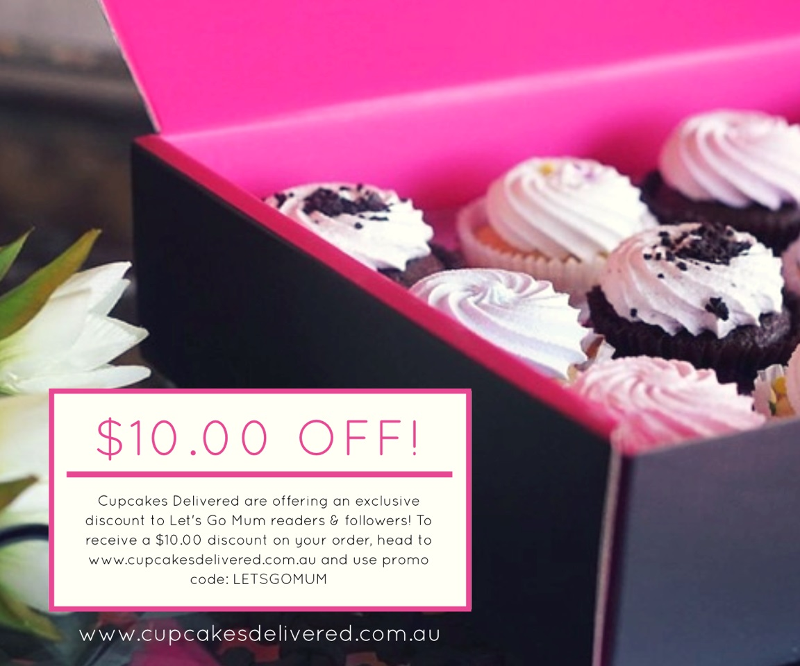 Cupcakes Delivered discount coupon