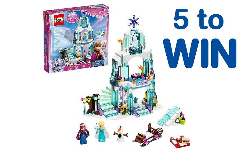 Win  of 5 Frozen Lego sets