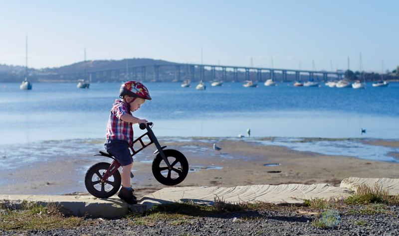 win one of two firstBIKE balance bikes!