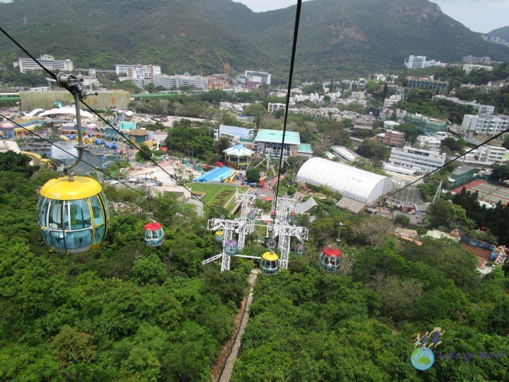 Ocean Park cable cars