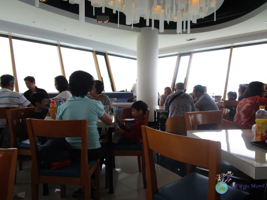 The Ocean Park Bayview Restaurant has amazing sea views