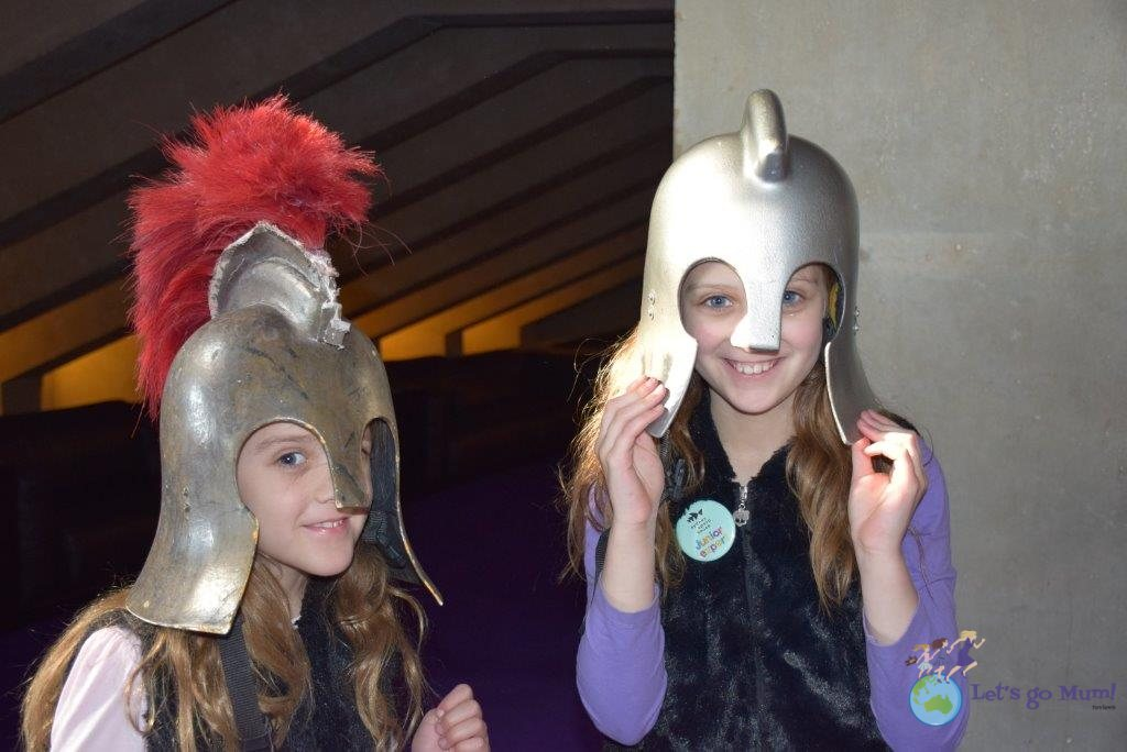 One of the Junior Tour highlights - costume dress-ups!