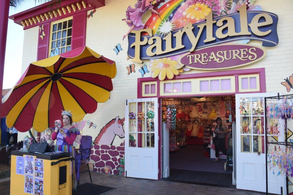 The Fairy shop at Dreamworld - Fairytale Treasures