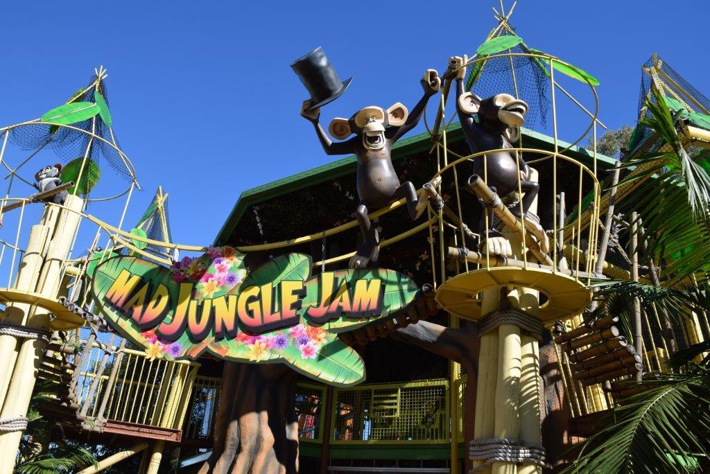 The Madagascar Jungle Jam is a popular play area
