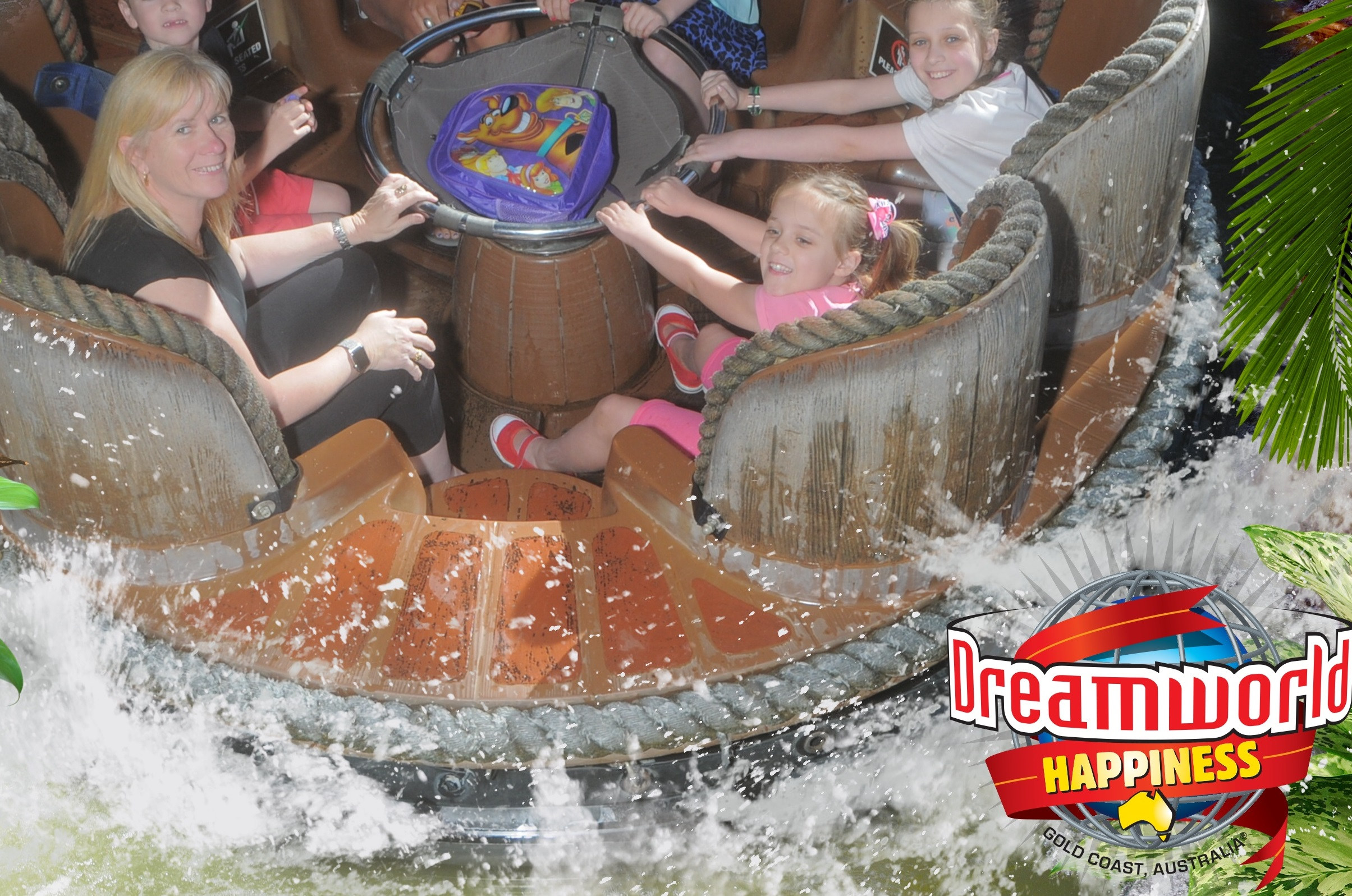 The Rapid River ride is such fun for families! (Photo - Dreamworld)