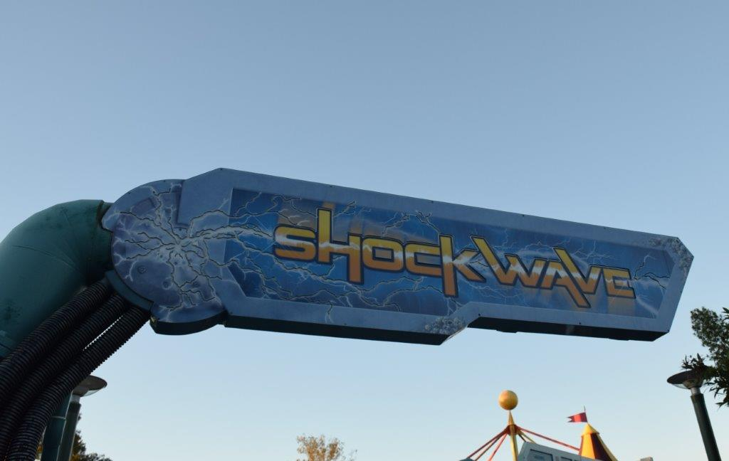 Sounds scary, but Shockwave is a fun family ride!