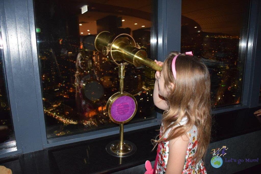 A view from the top - Sydney Tower
