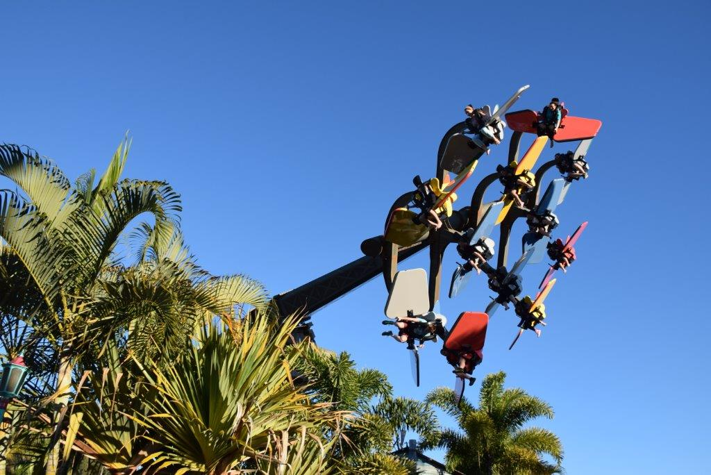 The Dreamworld Tailspin - a new ride to scream about!