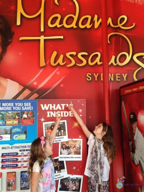 Next up - Madame Tussauds Wax Museum!