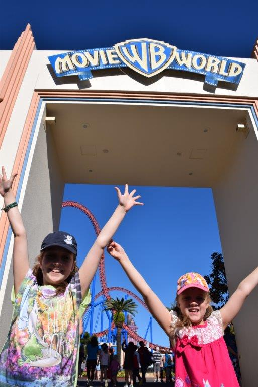 We had a brilliant day at Movie World