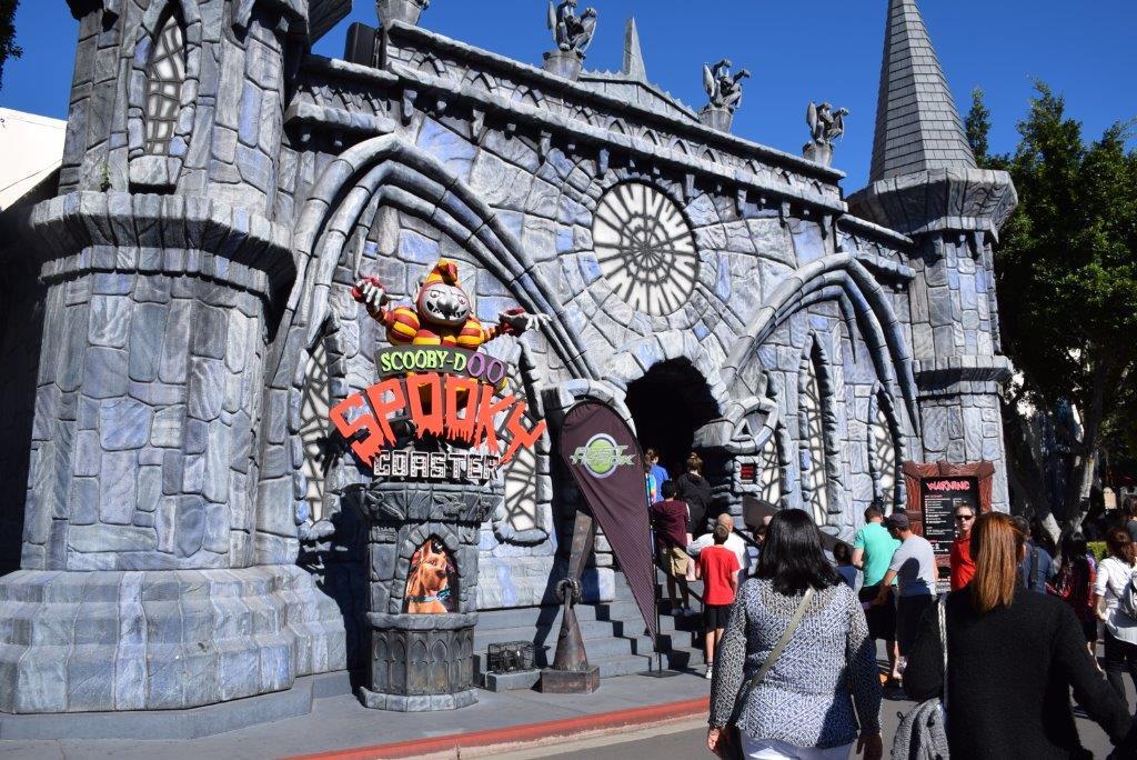 The Scooby Doo Spooky Coaster!