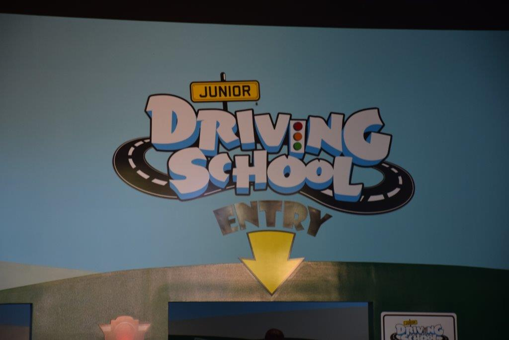 The Junior Driving School is a great new addition to the Kids' WB Fun Zone