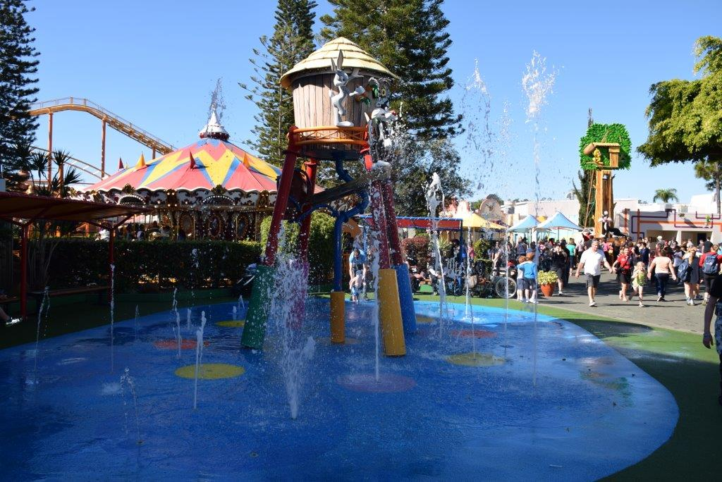 There's plenty of places to play in the Kids' WB Fun Zone