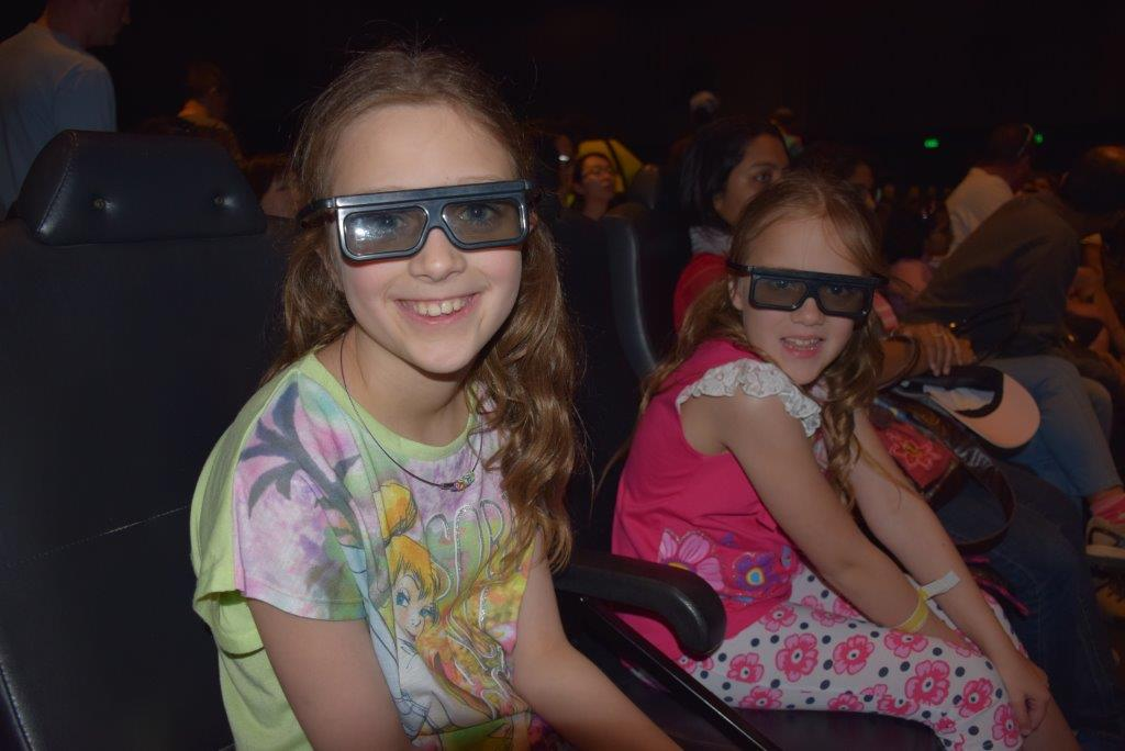 Looking cool whilst catching the Rio 2 movie in the 4D Cinema