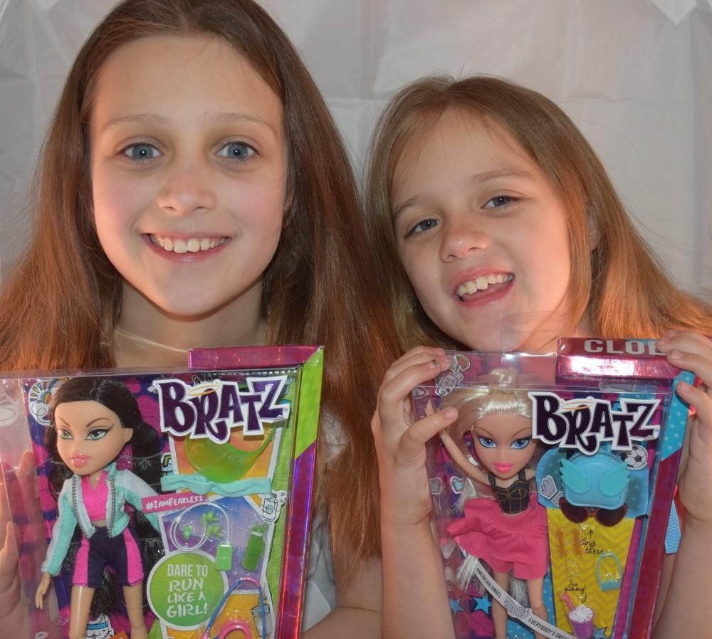 Brooke and Samantha adore their Bratz dolls!
