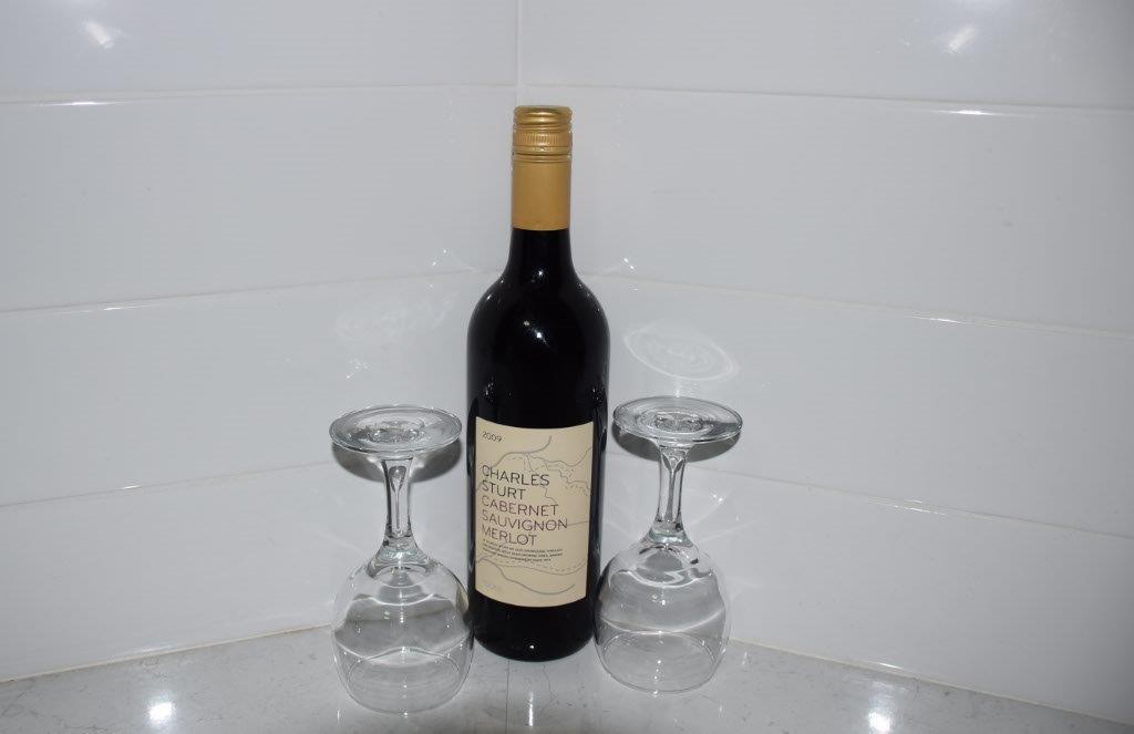 Gourmet mini bar option - Wagga Wagga specialty Cabernet Sauvignon Merlot