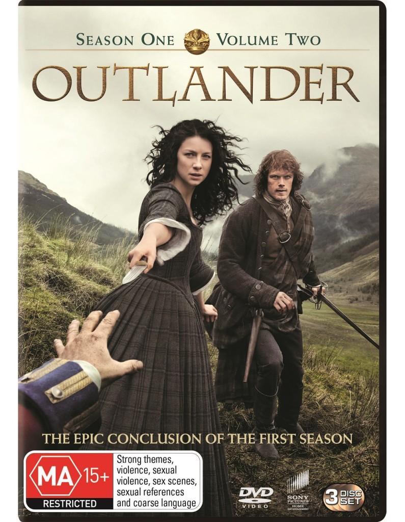 Outlander S1 V2 DVD cover