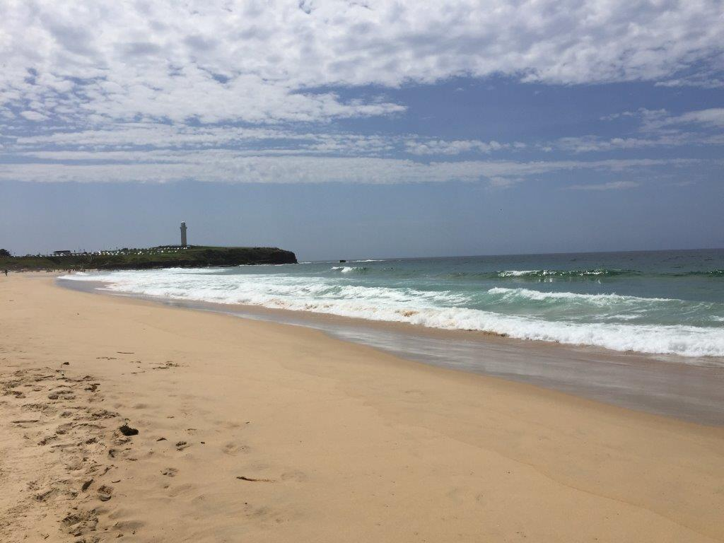 Wollongong City Beach is just 1 short block away from the City Beach Motel