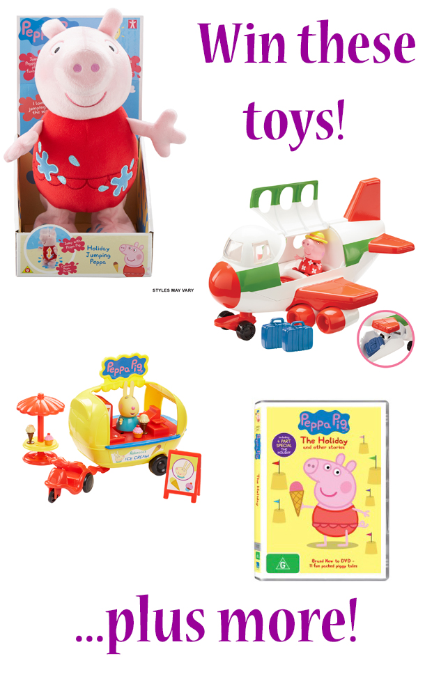 Win a Peppa Pig prize pack!