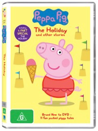 The new Peppa Pig The Holiday DVD