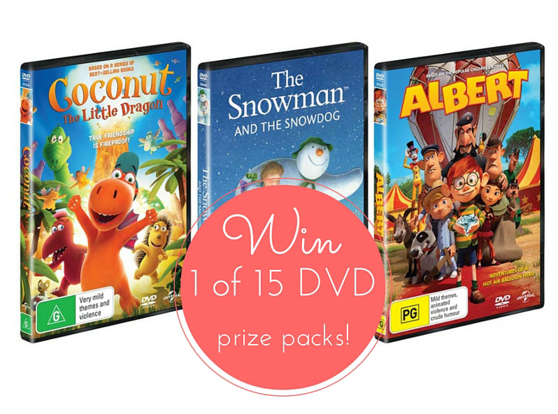 7a2969eda4e9a3 Win 1 of 15 Kids  New Release DVD Prize Packs!