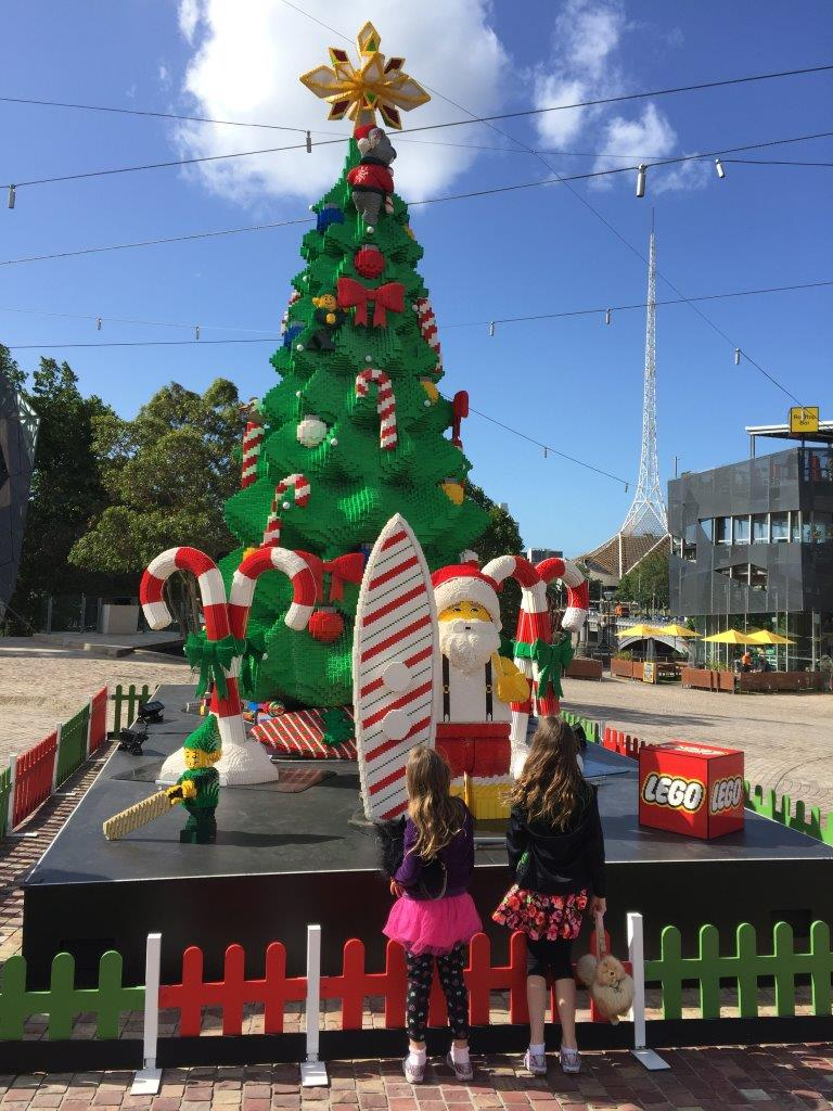 Federation Square Lego Christmas Tree