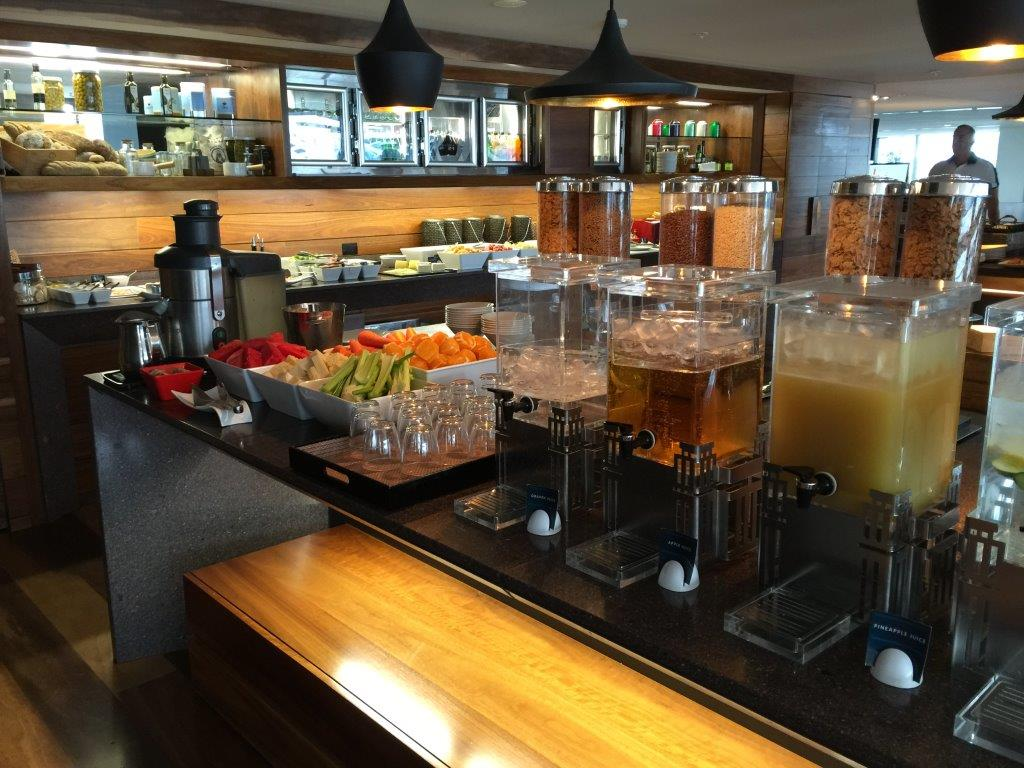 The Executive Lounge also offers a continental breakfast each morning