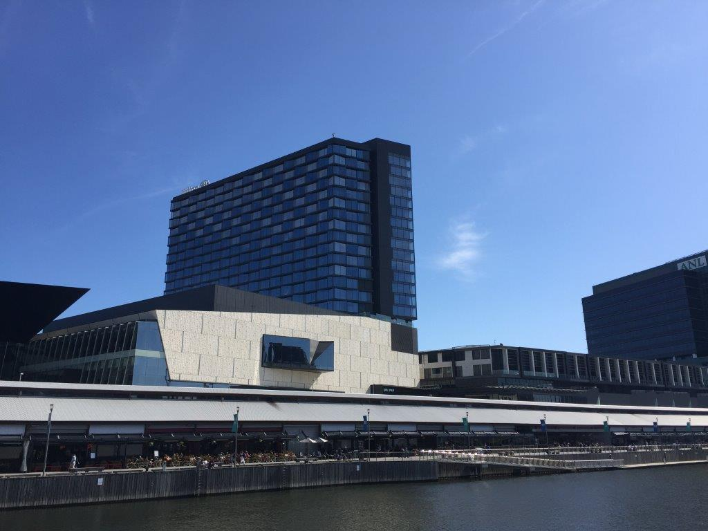 The Hilton Melbourne South Wharf - location - location - location!