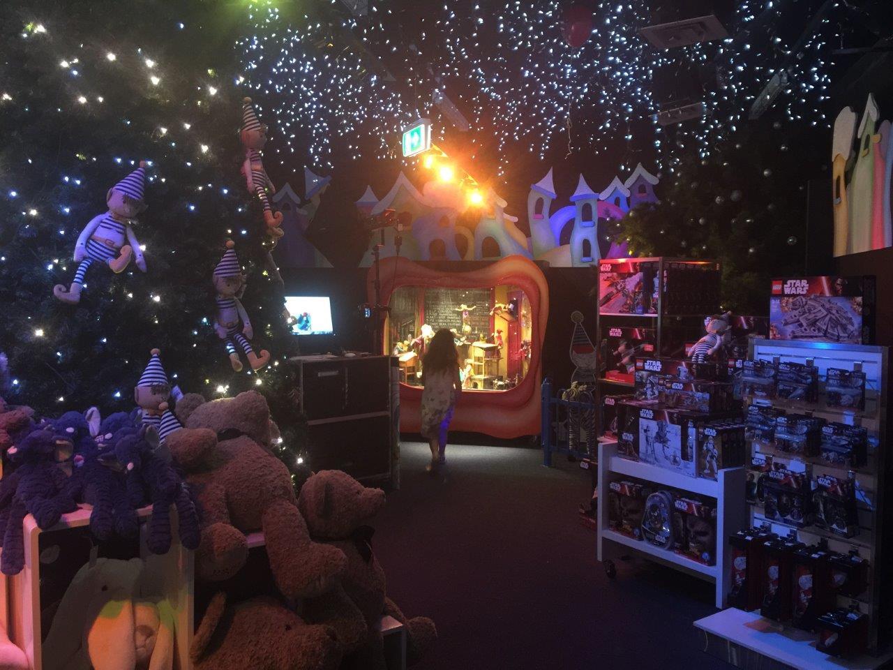 The David Jones Christmas Magic Cave