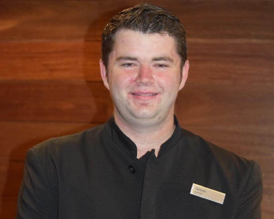 Lachlan the Hilton Concierge
