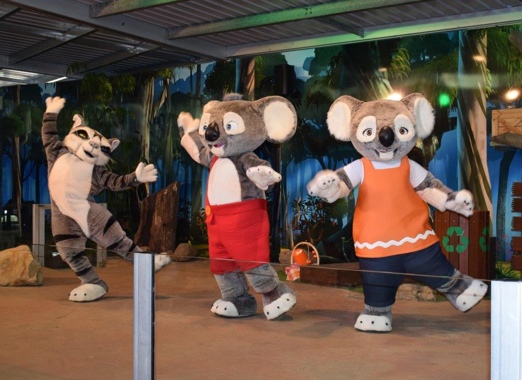The Blinky Bill live show is a quality kid's show playing at Currumbin