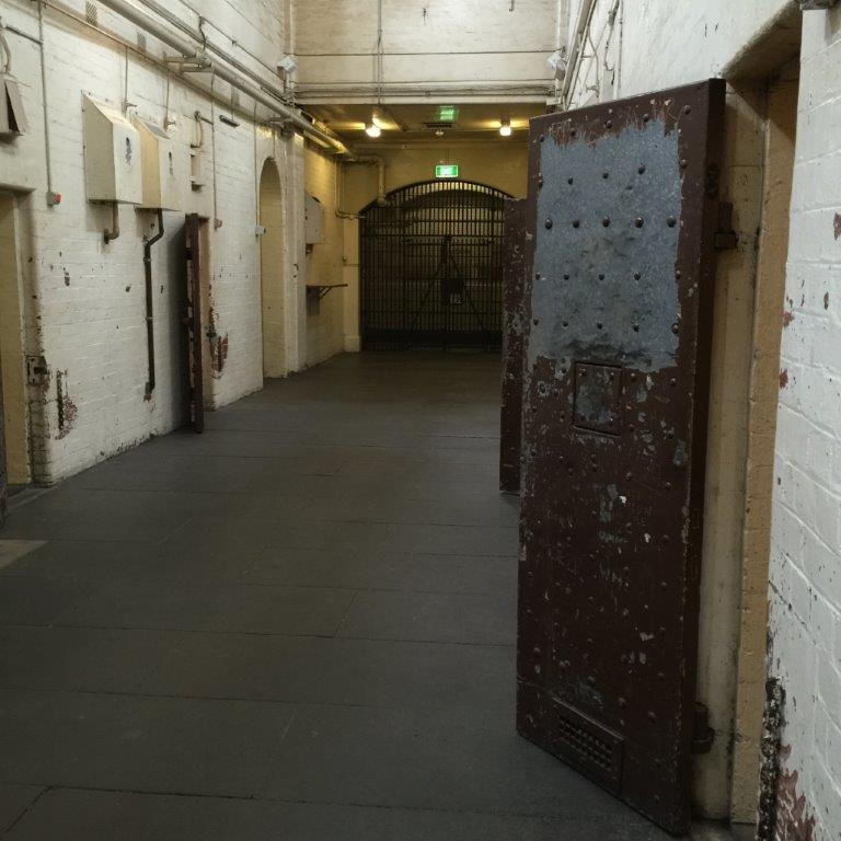 The City Police Watch House with its lock-up cells