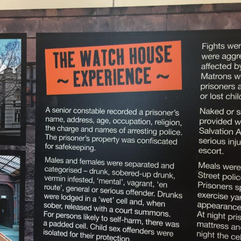 The City Police Watch House Experience is fun and fascinating
