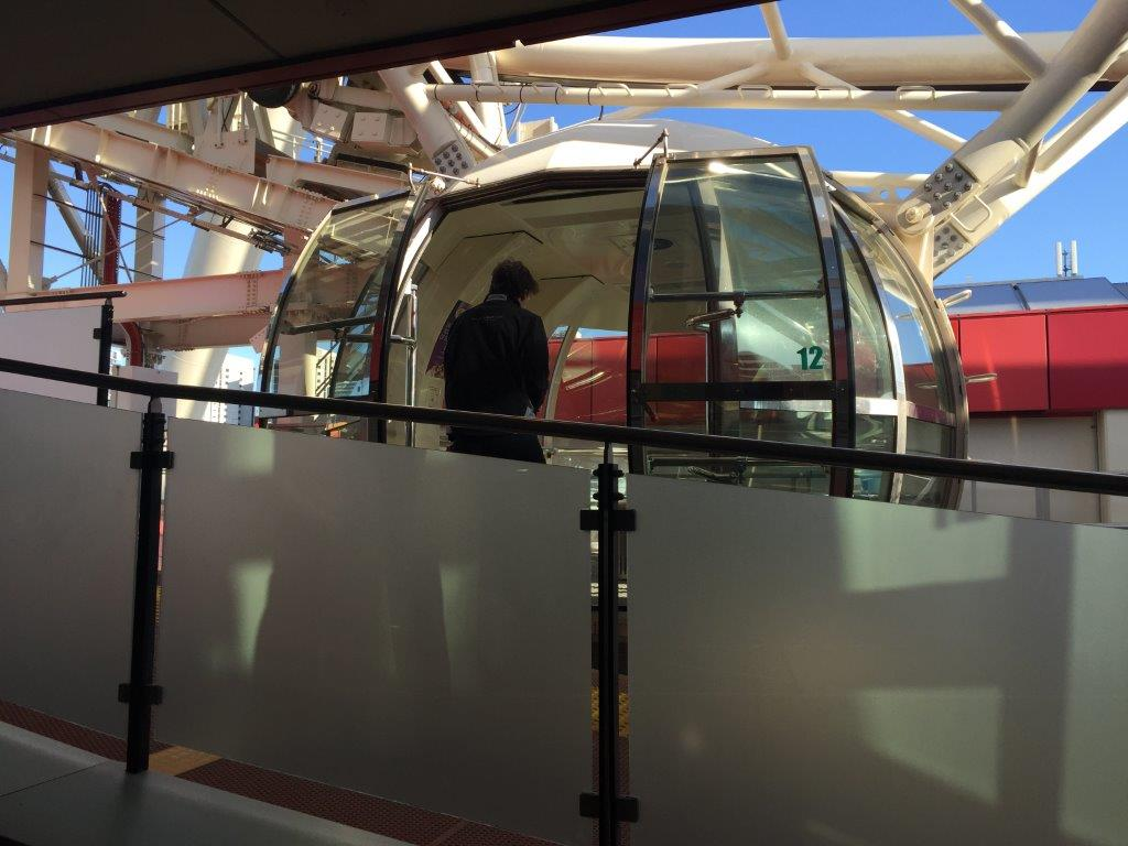 Boarding the Melbourne Star is slow and easy