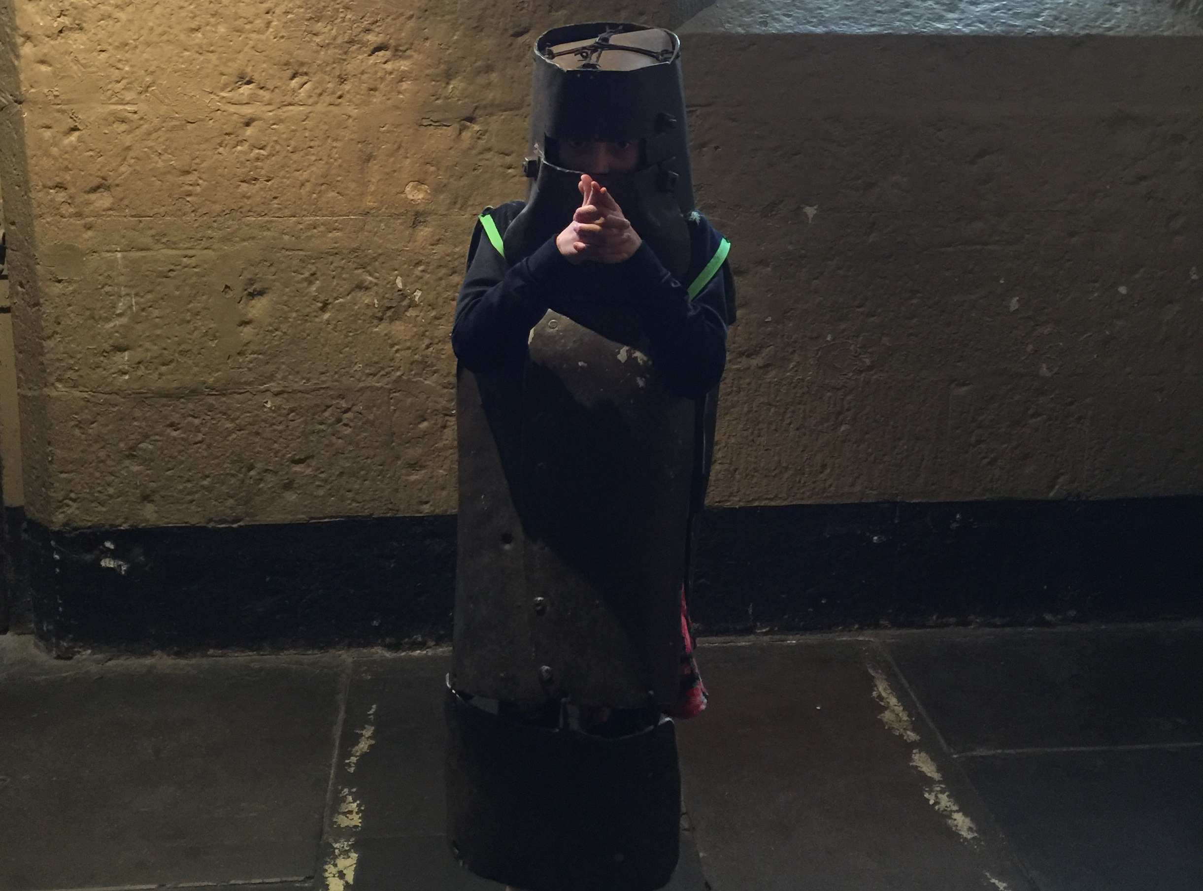 The kids can try on some reproduction Ned Kelly armour for photos!