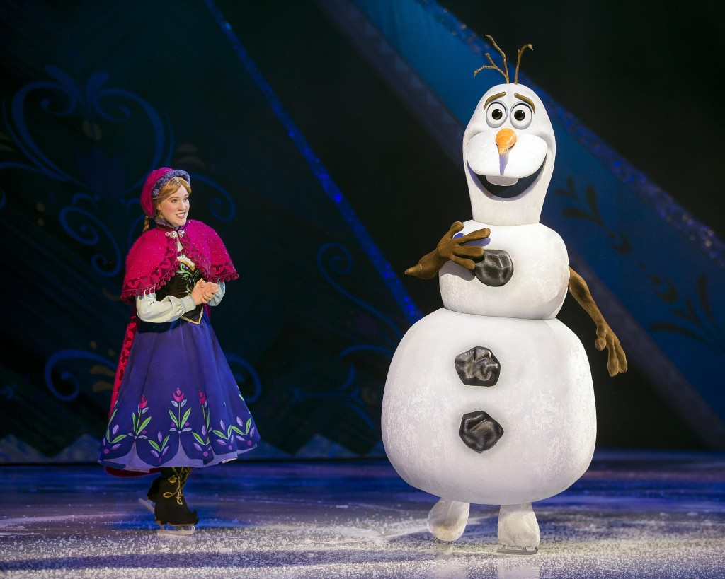 Anna and Olaf - ©Disney. All Rights Reserved