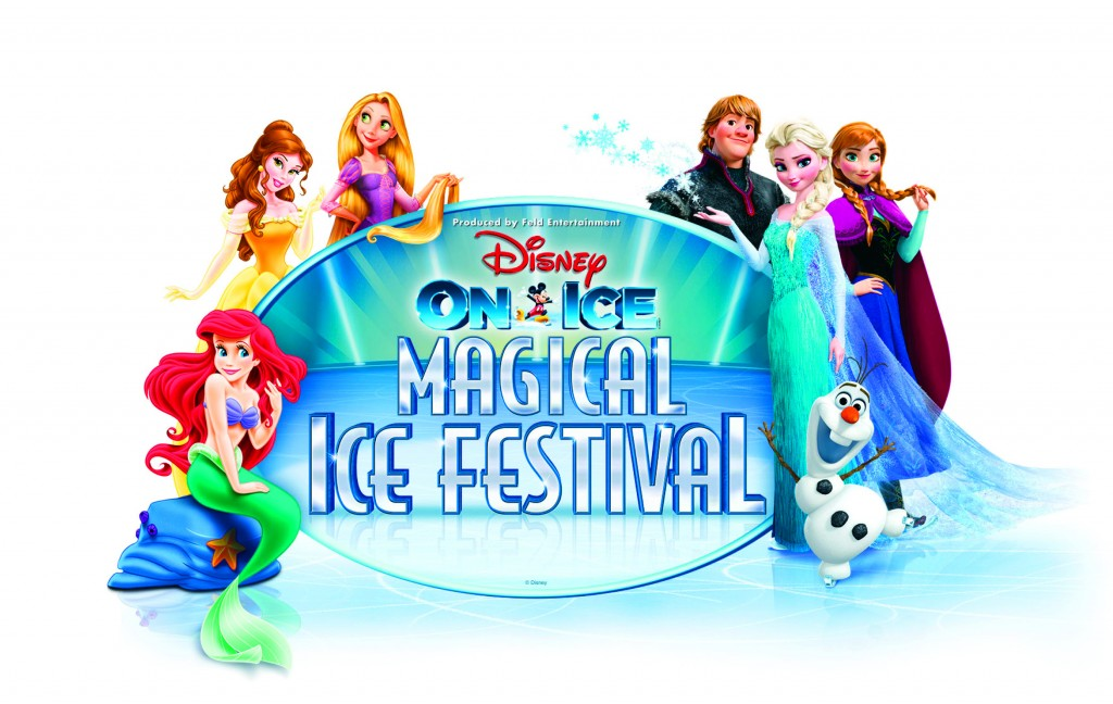 Disney On Ice Magical Ice Festival Logo - ©Disney. All Rights Reserved