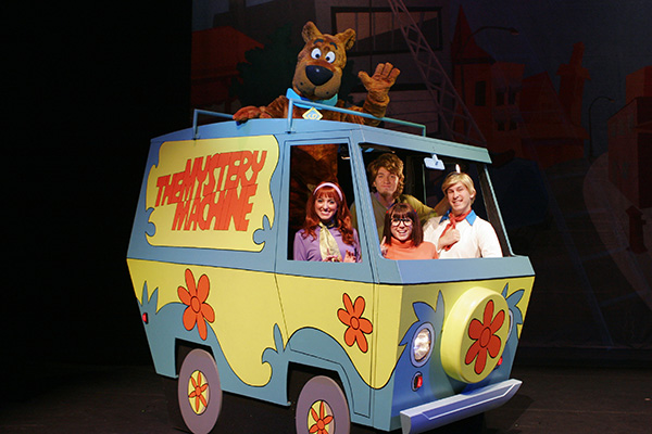 Scooby Doo Live Level Up