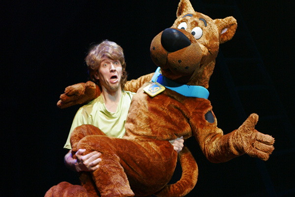 Scooby Doo and Shaggy - Scooby Doo Live