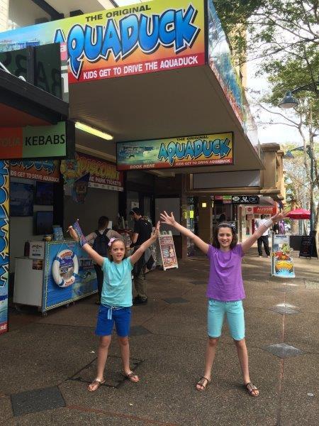 Yay - we're going on an Aquaduck Safari!