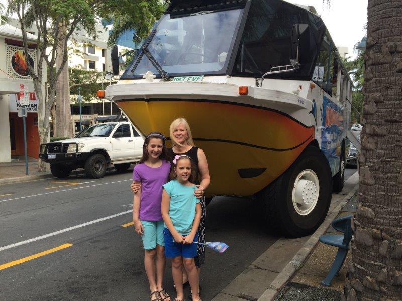 Aquaduck Safari buses are really big!
