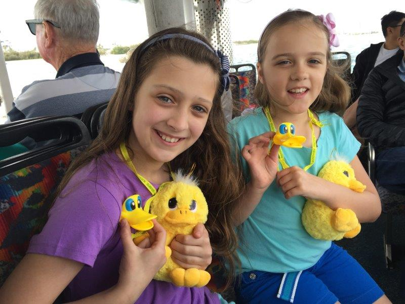 Some very cute Aquaduck souvenirs available on-board