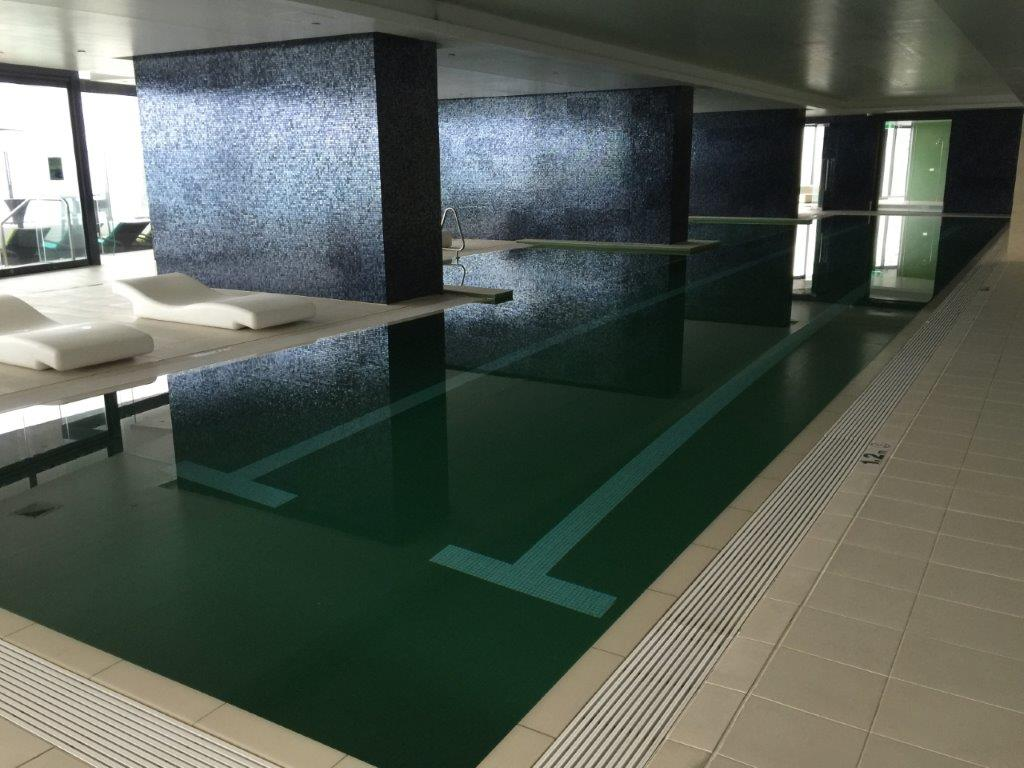 Soul apartments indoor heated pool