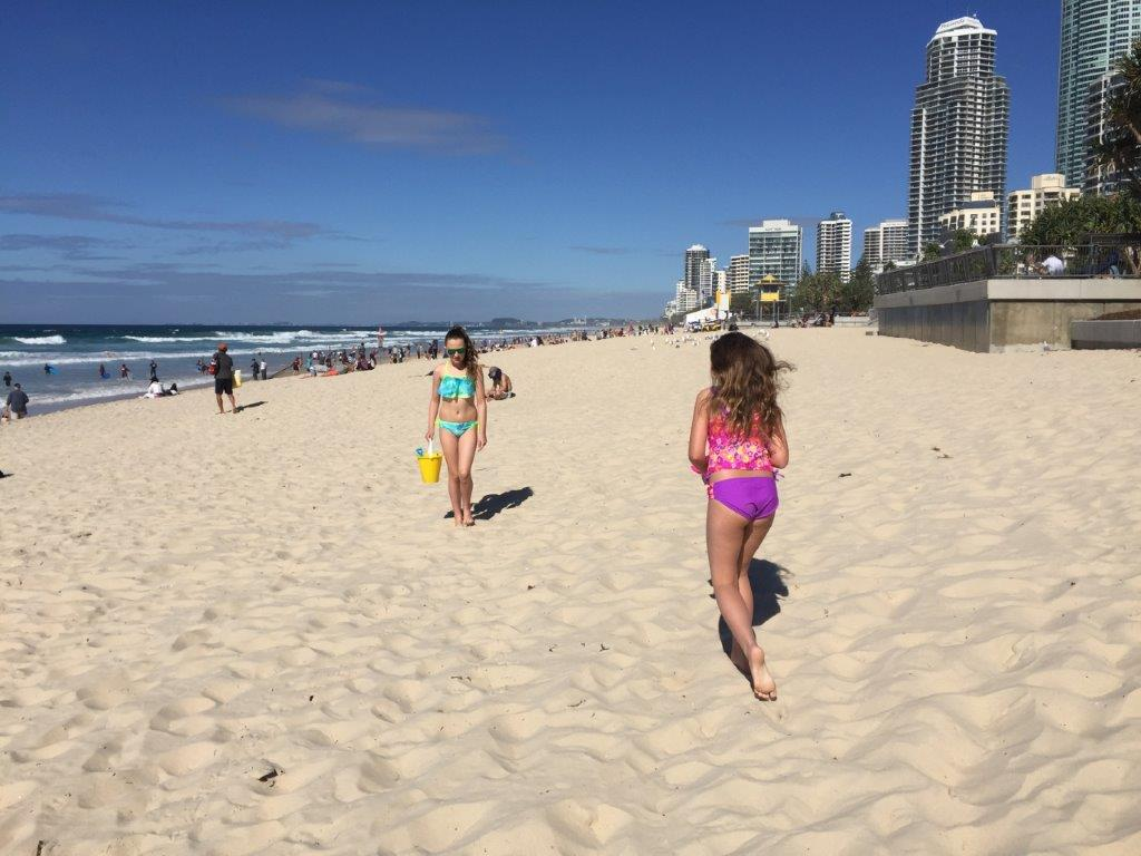 The perfect white sands of Surfers Paradise beach are just a few steps away from Soul