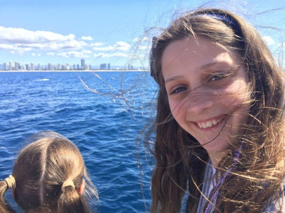 Children have a great time whale watching, and learn valuable conservation lessons